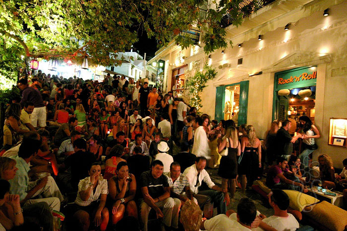 Nightlife in Skiathos